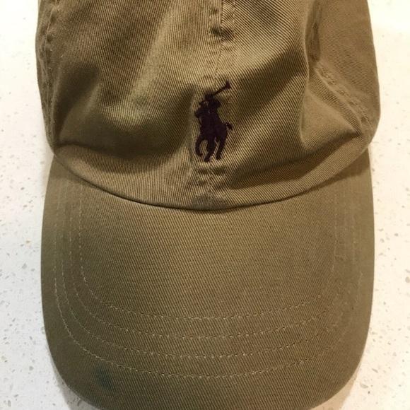 bbc7bf8ca51 Ralph Lauren cotton chino baseball cap. M 5a9c543746aa7c10e1dd5d63